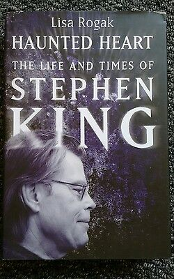 Haunted Heart The Life And Times Of Stephen King Biography By Lisa Rogak Hb/dj