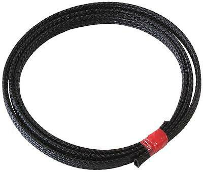 "Wire heat resistant sleeving, 1/4"" ID max, wiring overbraid/cover"