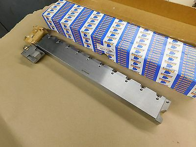 System 3R Model 3R-239-420 Wire EDM Table Ruler 420mm x 60mm x 30mm & 2 Clamps