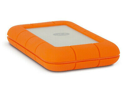 LaCie Rugged USB-C and USB 3.0 1TB Portable Hard Drive - STFR1000800