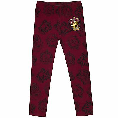 Girls Harry Potter Leggings | Harry Potter Trousers | Kids Hogwarts Bottoms