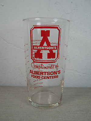 Albertson's Food Centers - Vintage Advertising Measuring Cup