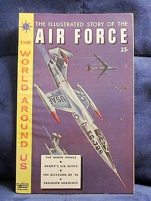 """World Around Us """"classics Illustrated"""" Sept-1959 *air Force* #13 - Hrn-#150"""