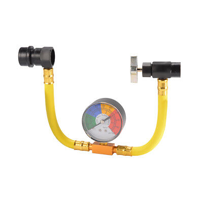 """R134A Air Conditioning Refrigerant Recharge Hose Gauge Valve 1/2"""" Fitting MA1276"""