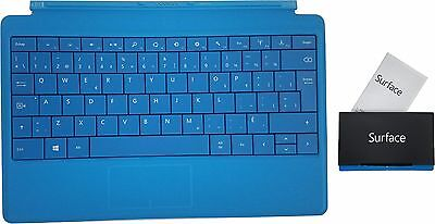 Microsoft Surface Type Cover 2 Backlit Keyboard Pro 1 2, RT 1 2 Blue FR Layout