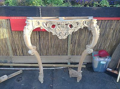 19thC French style Console table art nouveau