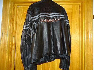 Original Mens Harley - Davidson Brand Leather Jacket in Great condition !