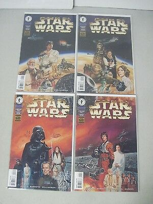 Complete Set Of Star Wars A New Hope #1-4 Dark Horse Comics Limited Series