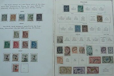 France collection, 370 older on pages + 16 Indo-China