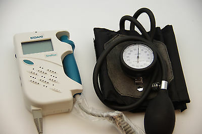 Sonotrax  Basic Vascular Doppler  FDA , 8MHZ  ABI KT, LCD w/ attached Guage Cuff