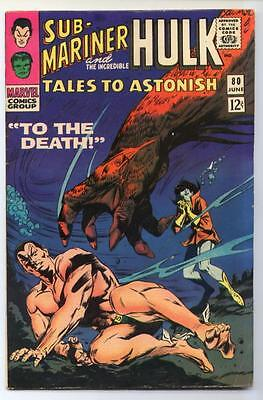Tales to Astonish #80 (Gene Colan) Silver Age-Marvel Comics FN  {Randy's Comics}