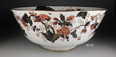 "COALPORT HONG KONG LARGE ROUND SALAD SERVING BOWL  10 1/8"" x 4 1/2"" - PERFECT"