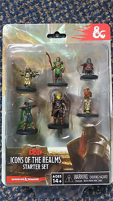 Dungeons & Dragons RPG - Icons of the Realms - Starter Set