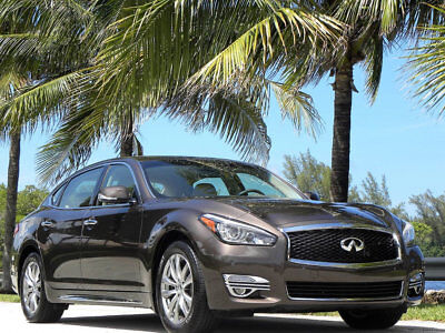 2015 Infiniti Q70 L-FINEST ANYWHERE-ONLY 12K MILES-NO RESERVE 2015 INFINITI Q70 LONG WHEEL BASE-NAVI-REAR CAM-AC/HEATED SEATS-MOON-NO RESERVE
