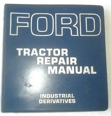 1967 - 1970 Ford Tractor Service Repair Manual Original