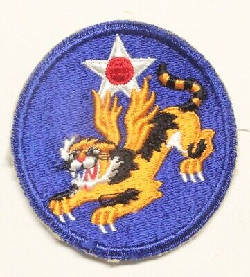 Army Air Corps Patch:  14th Air Force - WWII original
