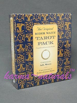 The Original RIDER WAITE TAROT Card Deck PACK - A.E. Waite - by U.S. Games
