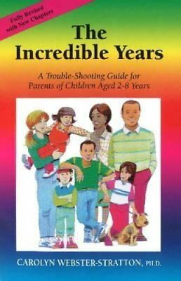 The Incredible Years by Carolyn Webster-Stratton 9781892222046 (Paperback, 2006)