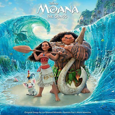 MOANA The Songs - Various Artists CD *NEW* 2017