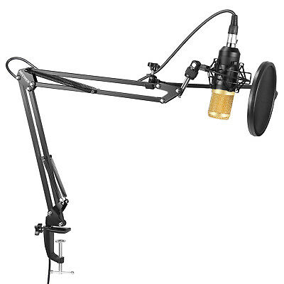 Neewer NW-8000 Pro Studio Condenser Microphone Stand Shock Mount Pop Filter Kit