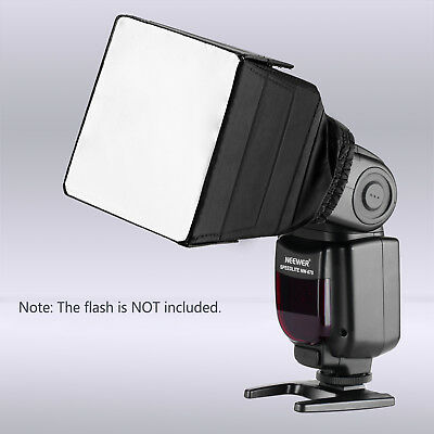Neewer Pop-Up Universal Soft Screen Box External Flash Diffuser for Canon Nikon