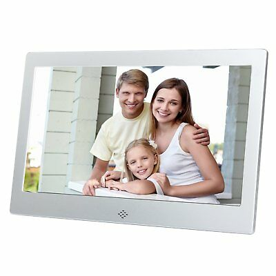 10 Inch Digital Photo Frame Electronic Pitcure HD Ultrathin Matte Metal for Gift