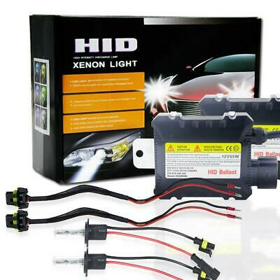 55W HID Xenon Headlight Conversion KIT Bulbs H1 H4 H8/H9/H11 H10 9005 9006 880