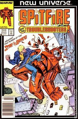 Spitfire and the Troubleshooters (1986) #5 VF