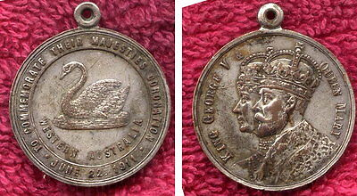 1911 George and Mary Corination Medal Western Australia