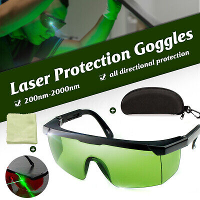 200nm-2000nm Laser Protection Goggles Safety Eyewears Glasses IPL-2 OD+4D & Box