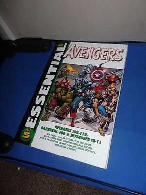 Marvel Comics Essential Avengers Volume 5 Graphic Novel