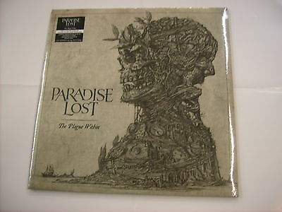 Paradise Lost - The Plague Within - 2Lp Vinyl New Sealed 2015 - 180 Gram