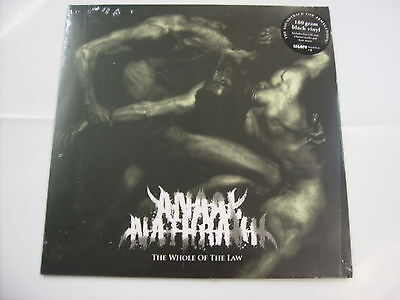Anaal Nathrakh - The Whole Of The Law - Lp Black Vinyl New Sealed 2016