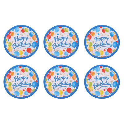 Baby Shower Blue Hearts Party Plates 23cm Paper 1-48PKCelebrate New Born Boy