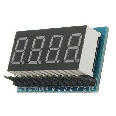 RED 4-Digit 8 Paragraph LED Display Board Parallel Digital Tube Display Module