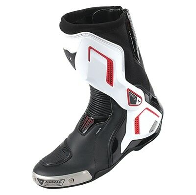 Motorrad Stiefel Dainese Torque D1 Out weiß/lava-rot Gr. 45