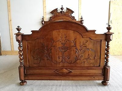 Very Attractive Antique French Bed