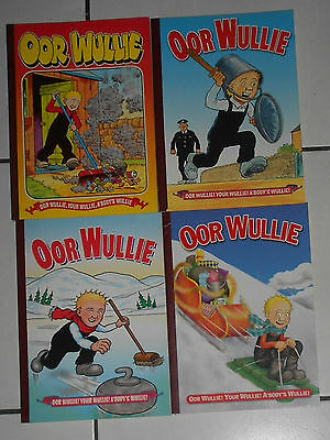 4 Oor Wullie Comic Annuals , 1998 To 2006 , Lot 1 , Ex / Nr Mint. Free Post Uk