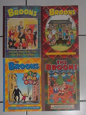 4 The Broons Comic Annuals , 2003 To 2013 , Lot 4 , Vg/ex. Free Post Uk