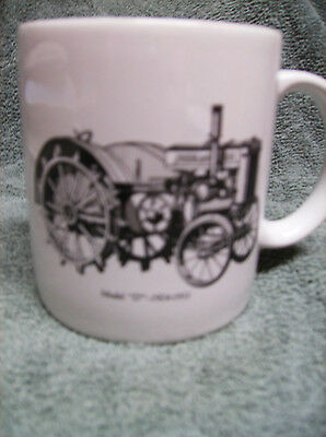 Go With The Green - John Deere - New - Coffee Cup Mug - Model D Tractor