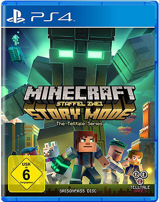 Sony PS4 Playstation 4 Spiel ***** Minecraft Story Mode - Season 2 ***NEU*NEW*55