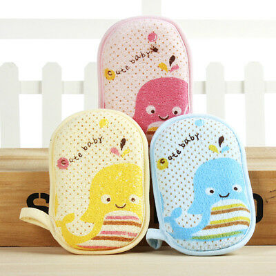 Infant Newborn Baby Bath Towel Infant Soft Cotton Cute Cartoon Wash Shower Towel