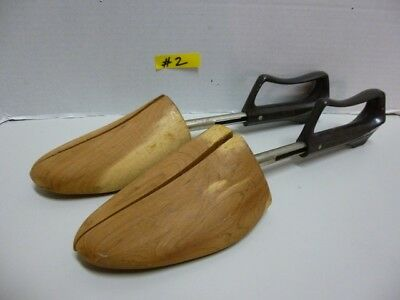 """Vintage-Wood """"Shoe Keepers by Rochester Shoe Tree Co. Sz.5"""