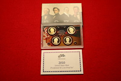 Proof Sets Special (2010 4-Piece Presidential Proof Set) Low Combined Shipping