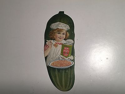H.J. Heinz, Pittsburgh, PA Cooked Spaghetti Pickle Trade Card