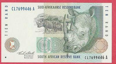 1993 South Africa 10 Rand Note Unc