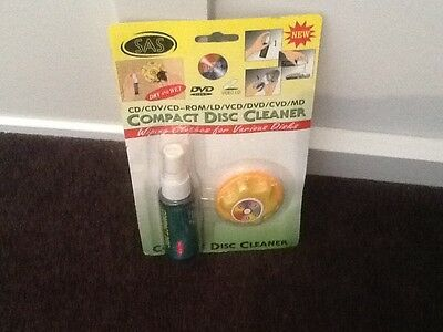 Compact Disc Cleaner Brand New