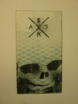 BASK Because Art Should Kill Skulls Original 2012 1XRun Fairey,Faile,KAWS,Banksy