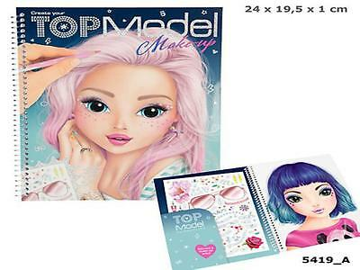 Top Model 5419_A - Create Your Make Up Malbuch, Depesche, Neu