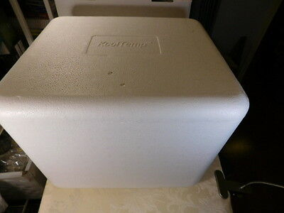 "KoolTemp Styrofoam Insulated Shipping Box Cooler 15""Lx12.5""Dx12.5""H Outside Dim."
